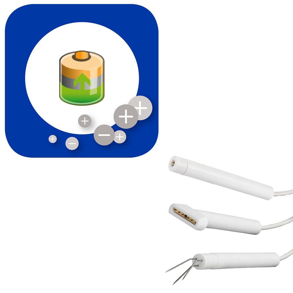 Electrodes chargeantes